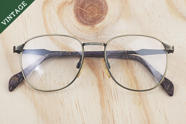 vtg-437 Moulin optical antique goldl rim