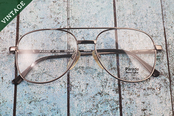 vtg-440 parade gunmetal big square rim