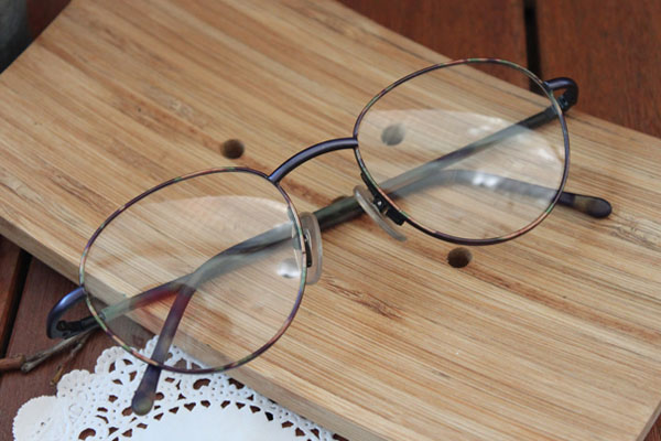 vtg-338 purple pattern rim with round frame